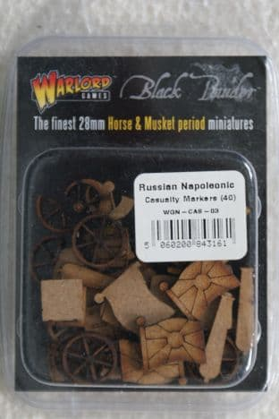 Warlord Games 28mm WGN-CAS-03 Napoleonic Russian Casualty Markers