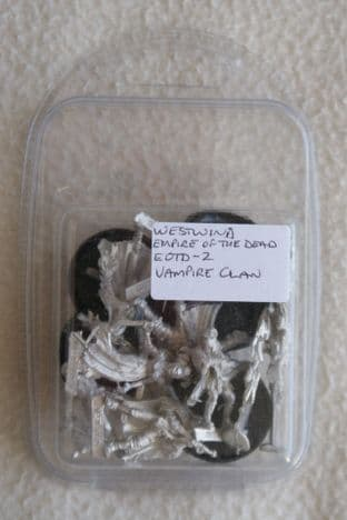 Westwind 28mm Empire Of The Dead EOTD-02 Vampire Faction Starter Set