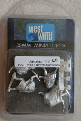 Westwind 28mm PA-3 Pictish Bowmen/Crossbows