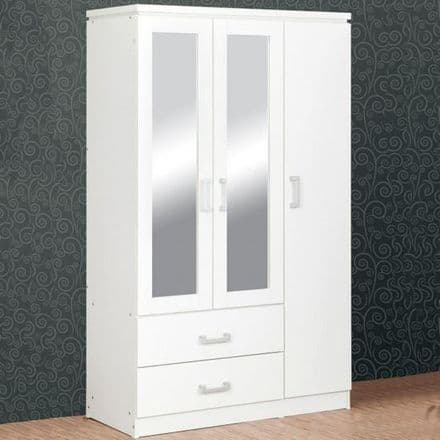 Charle 3 Door 2 Drawer Wardrobe