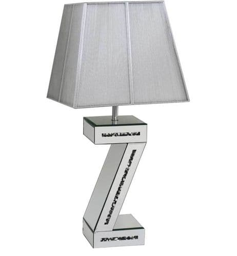 Crystal Z Table Lamp
