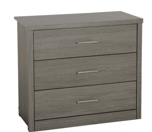 Lisboon 3 Drawer Chest Of Drawers