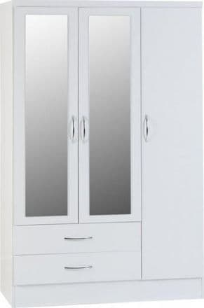 Navad 3 Door 2 Drawer Wardrobe