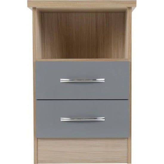 Nevad 2 Drawer Bedside