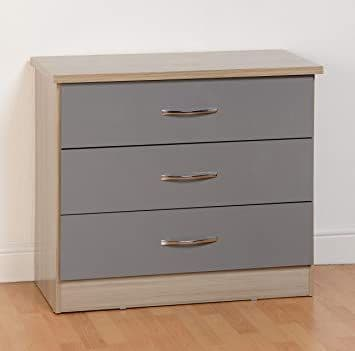 Nevad 3 Drawer Chest