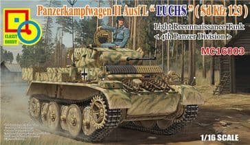 Classy Hobby 1/16 PzKpfw II Ausf L (4th Panzer Division)