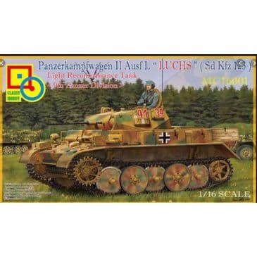 Classy Hobby 1/16 PzKpfw II Ausf L (9th Panzer Division)