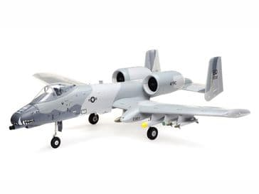 E-Flite A-10 Thunderbolt II 64mm EDF BNF with AS3X + SAFE Select