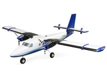 E-Flite Twin Otter 1.2m BNF with AS3X and Safe (includes floats)