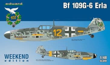 Eduard 1/48 Bf 109G-6 Erla (weekend edition)