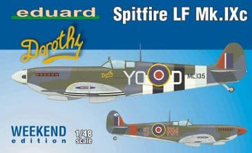 Eduard 1/48 Spitfire LF Mk.IXc (weekend edition)