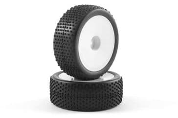 Fastrax 1/10 Buggy Mounted Front Wheel+Tyre (1 Pair)