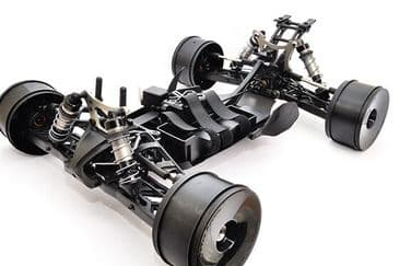 Hobao Hyper SSTE 1/8 Electric Truggy Rolling Chassis