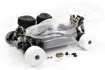 Hobao Hyper VS 1/8 Electric Buggy Rolling Chassis