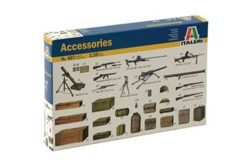 Italeri 1/35 WW2 Diorama Accessories