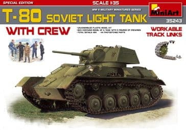 MiniArt 1/35 T-80 Soviet Light Tank
