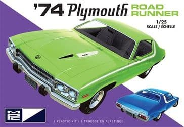 MPC 1/25 1974 Plymouth Road Runner