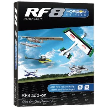 Realflight 8 Horizon Hobby Edition - ADD ON ONLY