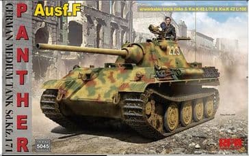 RFM 1/35 Panther AUSF.F with Workable Track Links