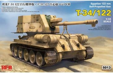 RFM 1/35 T-34/122 Egyptian 122mm Self Propelled Gun
