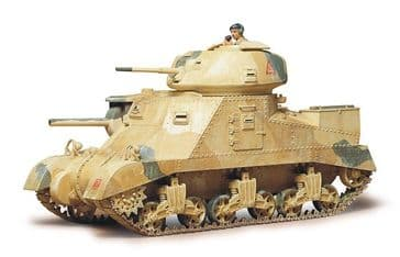 Tamiya 1/35 British Army Medium Tank M3 Grant MK1