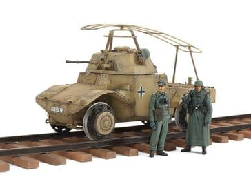 Tamiya 1/35 German Armoured Railway Vehicle P204(f)