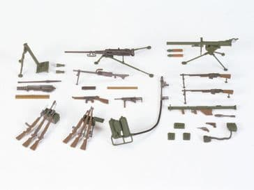 Tamiya 1/35 US Infantry weapons