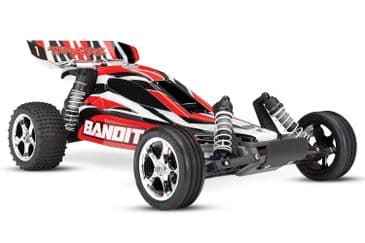 Traxxas Bandit XL-5 1/10 2WD Buggy - RED