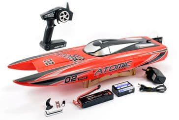 Volantex Atomic 70cm Brushless RTR Race Boat (RED)