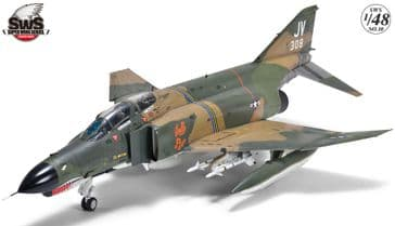 Zoukei Mura 1/48 F-4E Early Phantom II
