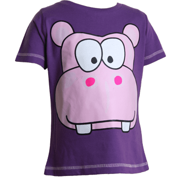 Hippo T-Shirts (6-23mnths 6 Pack) - (2-6yrs 6 Pack)