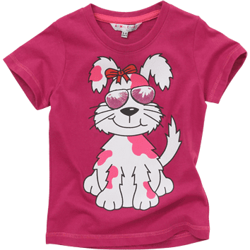 Puppy T-Shirts (6-23mnths 6 Pack) - (2-6yrs 6 Pack)