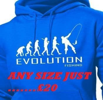 AN EVOLUTION FISHING HOODY **SPECIAL OFFER**