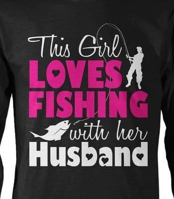 THIS GIRL LOVES FISHING
