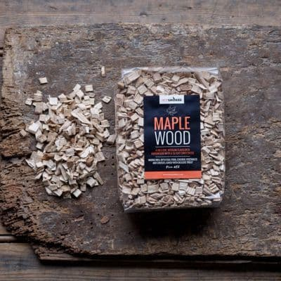 HOT SMOKED MAPLE WOOD CHIPS