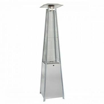 Pyramid Patio Heater With Glass Tube
