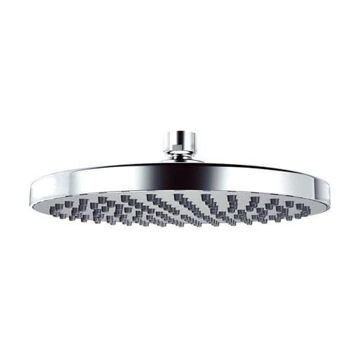 Pura KI081 Chrome Plated Round 200mm Shower Head with Swivel Joint