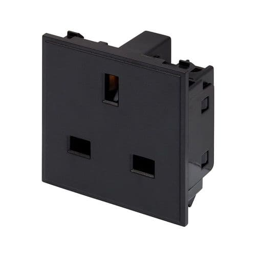 RT 13A Socket (50mmX50mm) Black 09019