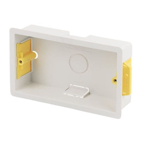 APPLEBY 2-GANG 35MM DRY LINING BOX