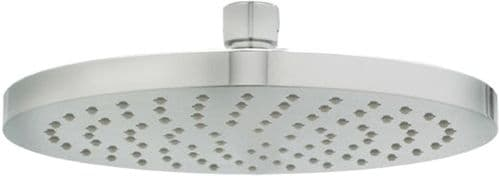 "Deva HEAH06 Chrome 8"" 200mm Round Fixed Shower Head with Swivel Joint"