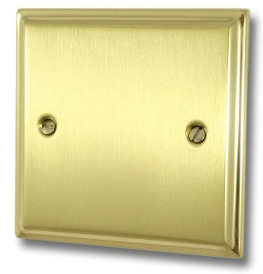G&H Deco Plate Mixed Brass