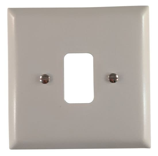 G&H Spectrum Plate Light Grey