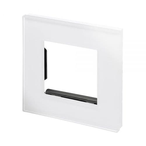 RetroTouch Spare Glass Plate For Light Switch White CT 04940