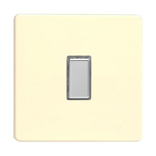 Varilight JDWES001S Screwless White Chocolate 1 Gang Touch Dimming Slave (use with V-Pro Master)