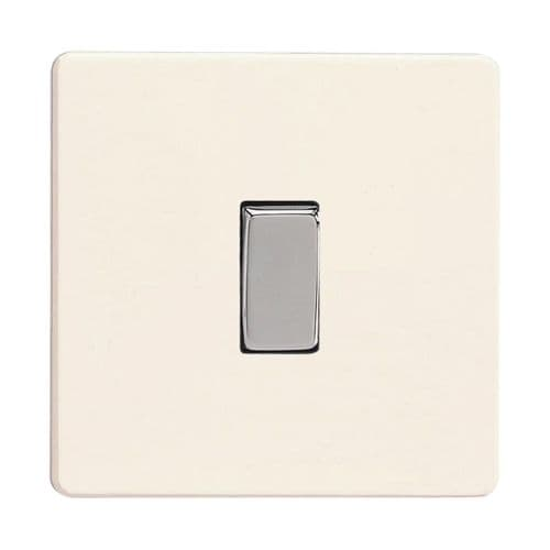 Varilight XDY7S.PD Screwless Primed 1 Gang 10A Intermediate Rocker Light Switch