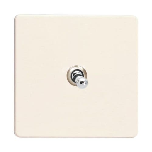 Varilight XDYT1S.PD Screwless Primed 1 Gang 10A 1 or 2 Way Toggle Light Switch