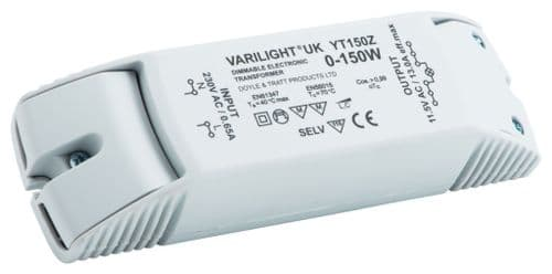 Varilight YT150Z Lighting Transformer 0-150VA Dimmable Low Voltage (with Terminals)
