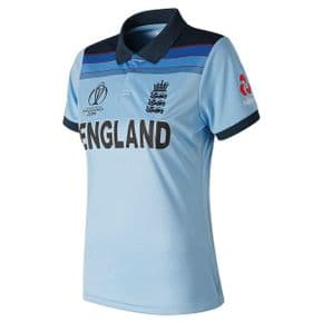 2019 ECB England World Cup One Day International Cricket Shirt - Womens