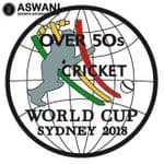 Over 50's Cricket World Cup 2018 Pin Badge