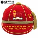 Wales Over 50's Cricket World Cup 2018 Honours Cap